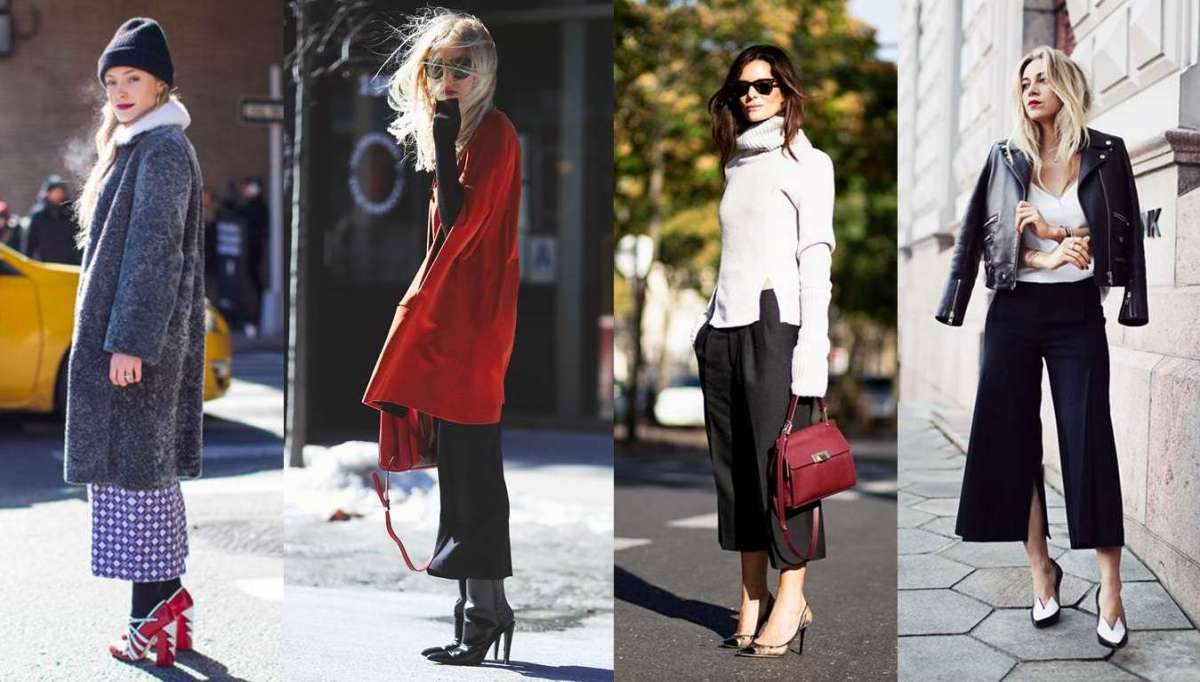 dcd719f9b34107 Come indossare i pantaloni cropped pants in inverno: idee per look di  tendenza [FOTO