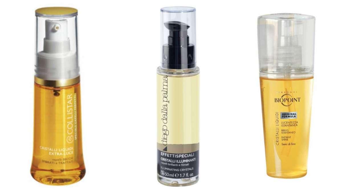 Cristalli liquidi per capelli: i migliori prodotti [FOTO]