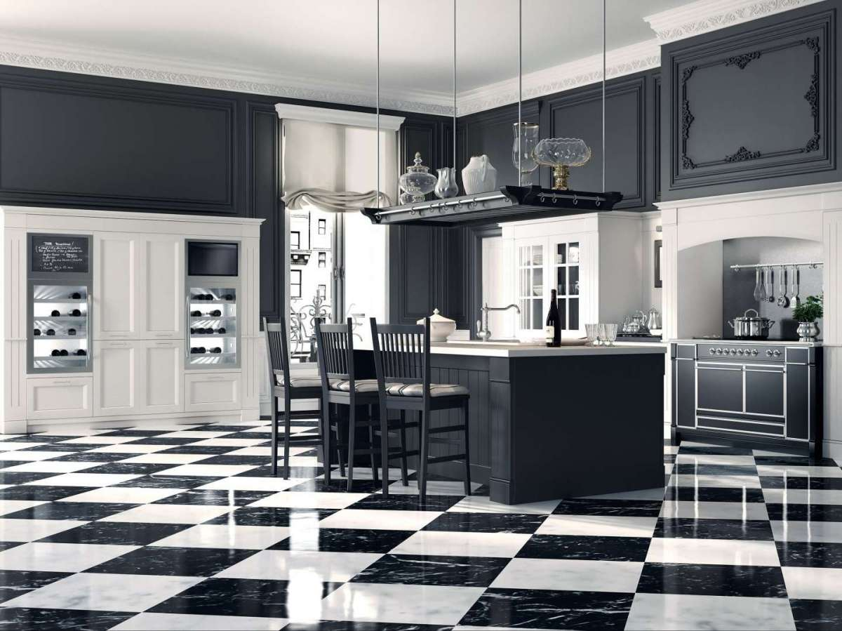 Cucine a isola classiche e moderne, per una casa bella e conviviale ...
