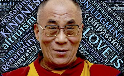 Frasi del Dalai Lama sull'amore: le più belle