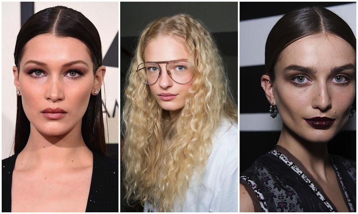 Quale look con capelli riga al centro per l'Inverno 2017 preferisci?
