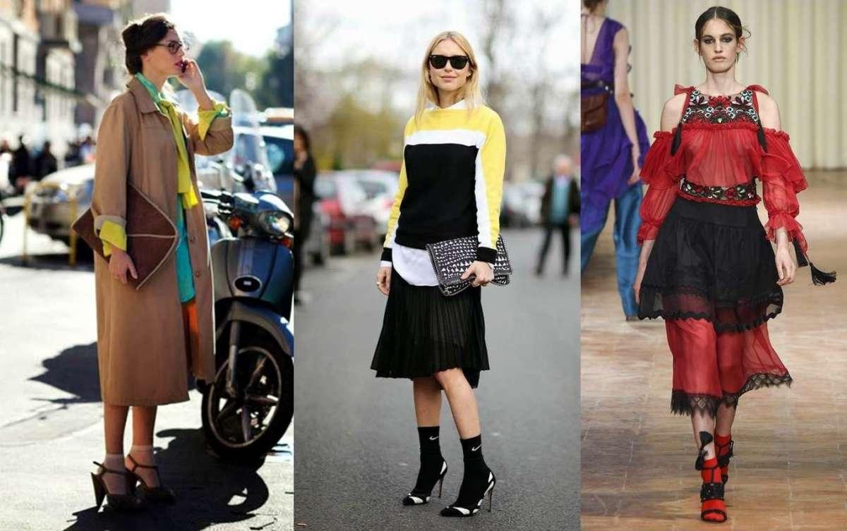 Sandali con le calze: la tendenza del momento dalle passerelle allo street style [FOTO]