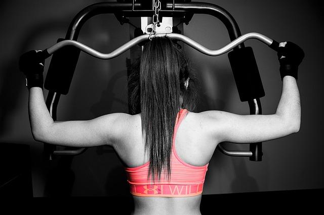 spalle allenamento