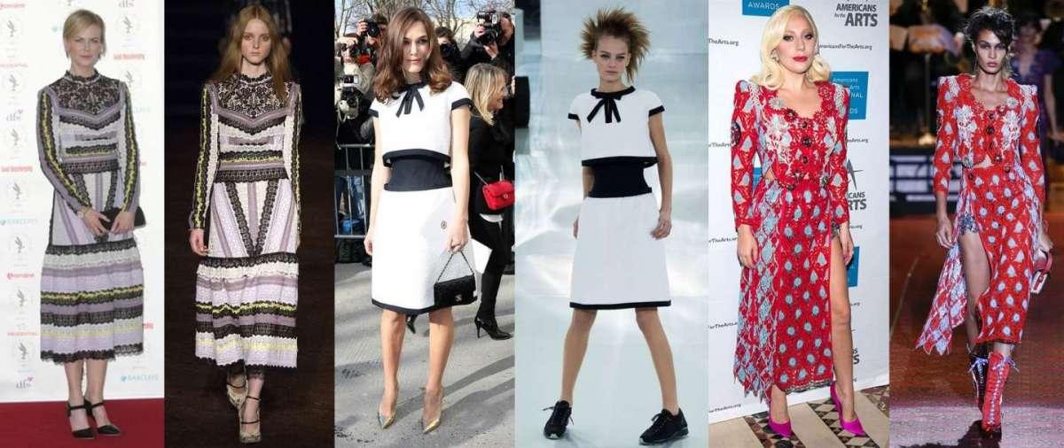 Star e modelle con lo stesso abito, a chi sta meglio? [FOTO]