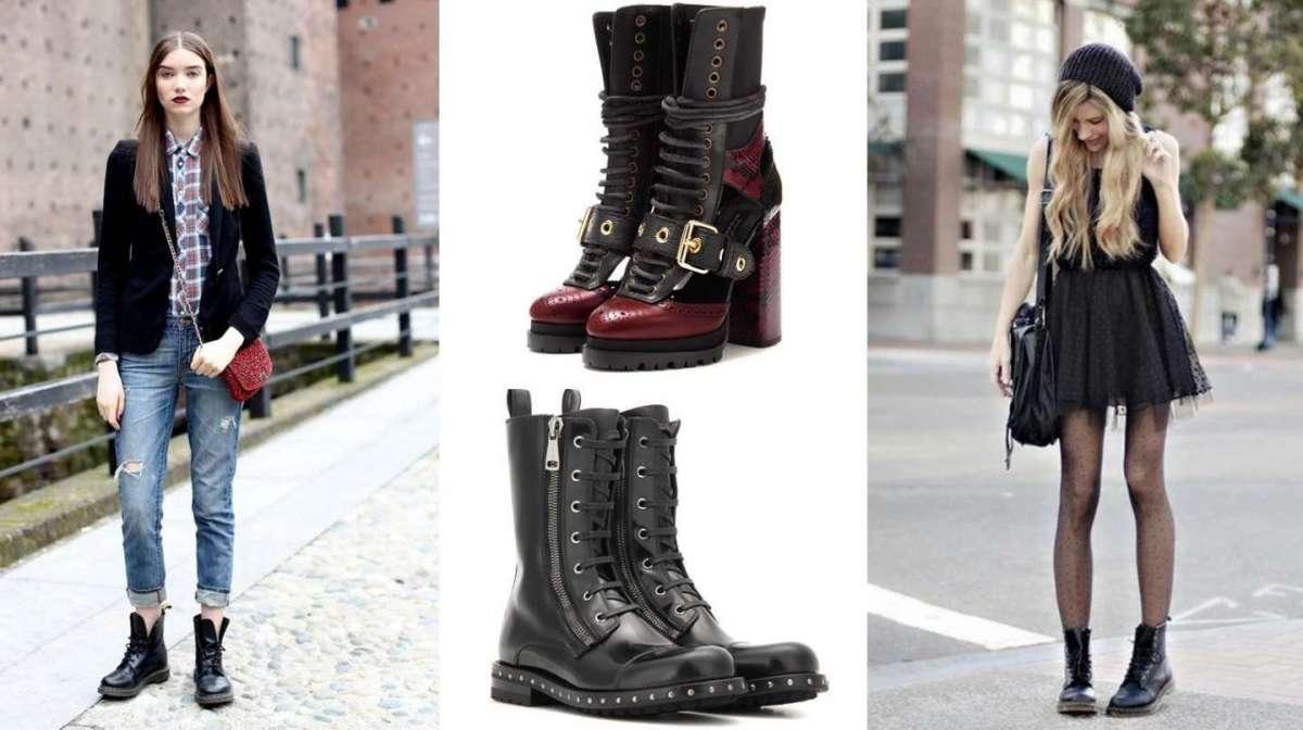 Stivali anfibi, la tendenza più fashion per l'inverno [FOTO]