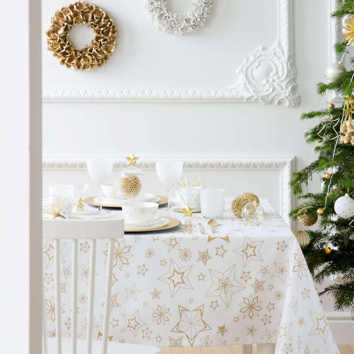 Tovaglia e tovaglioli Zara Home Natale 2016