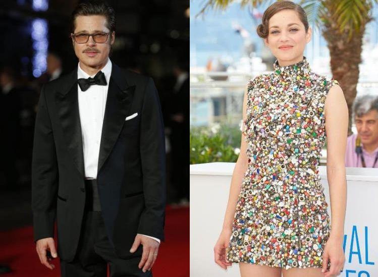Brad Pitt ha tradito Angelina Jolie con Marion Cotillard foto news scoop gossip tradimento