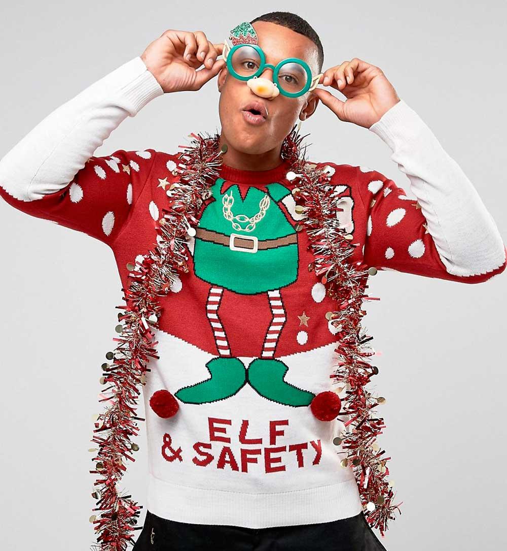Brave Soul Pullover per Natale