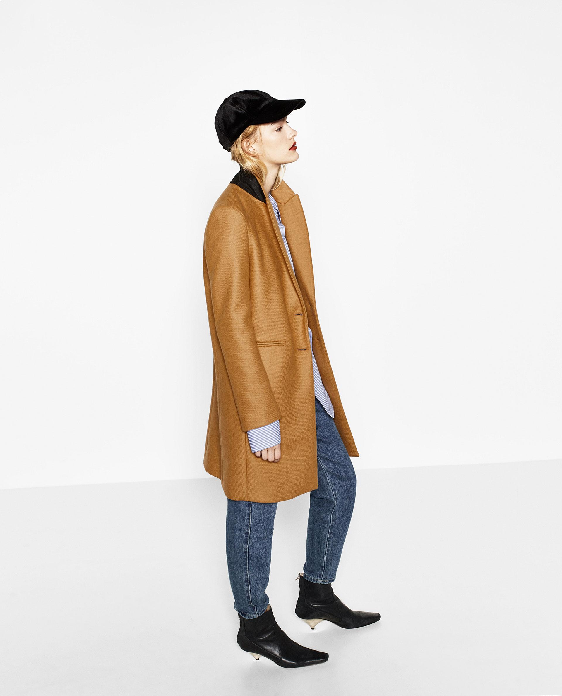 Cappotto in stile mannish Zara
