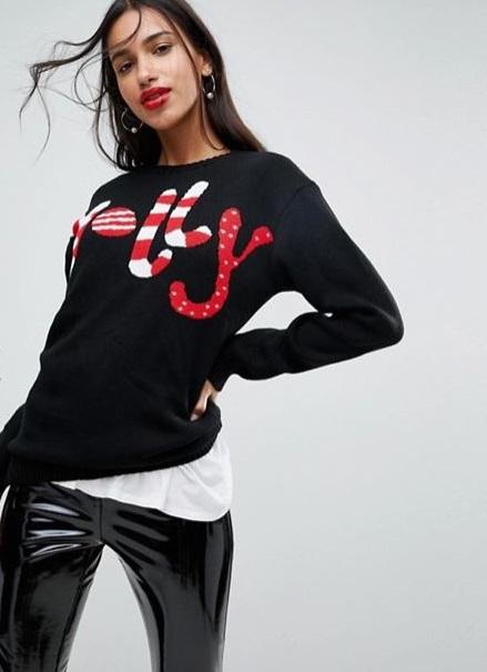 Maglione natalizio americano Club L