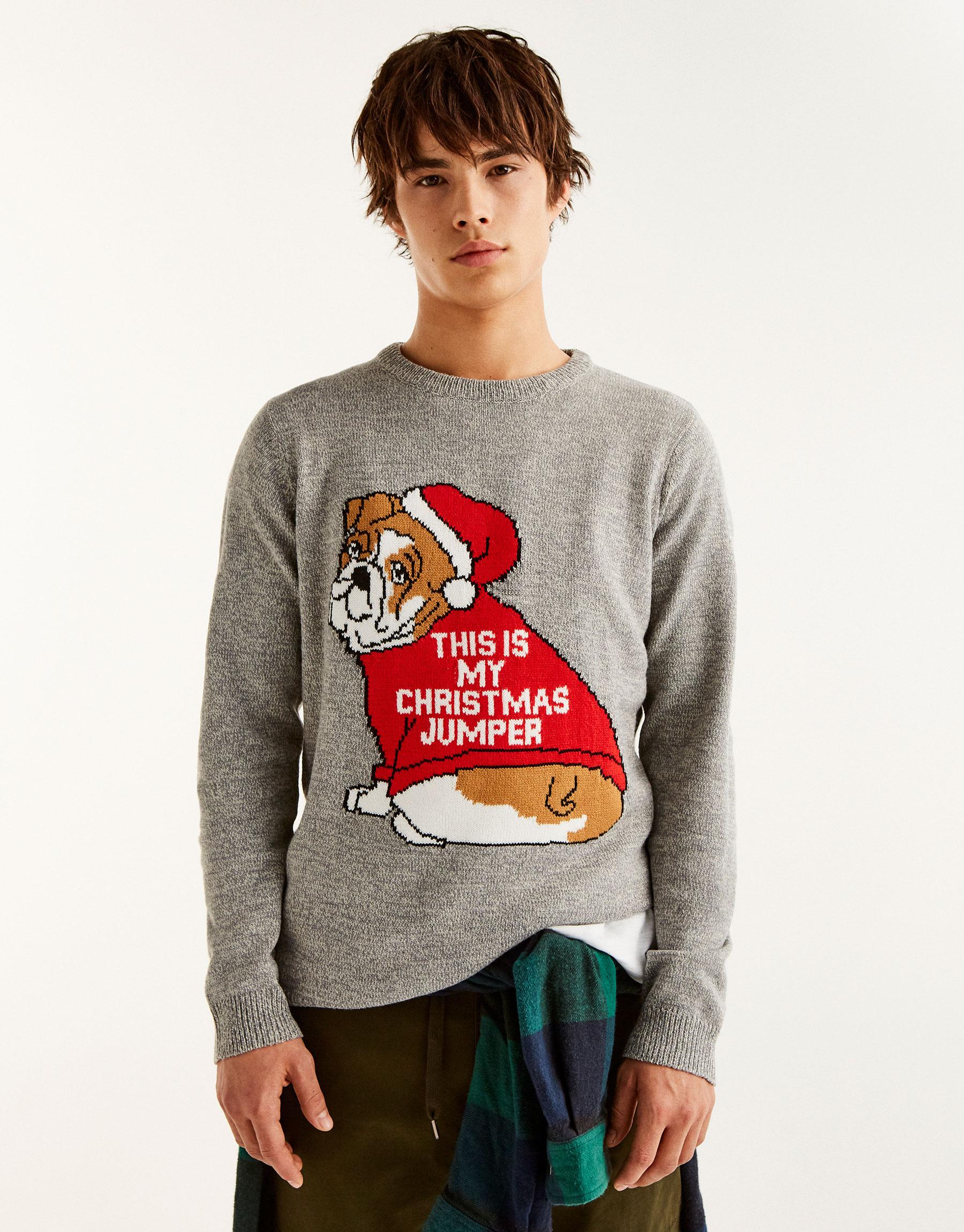 Maglione natalizio americano Pull and Bear