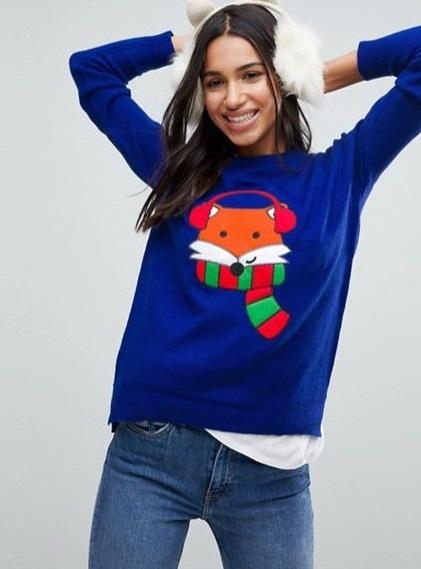 Maglione natalizio americano donna Brave Soul