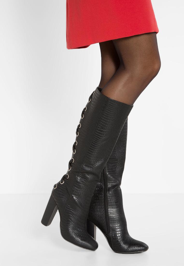 Stivali con tacco Missguided