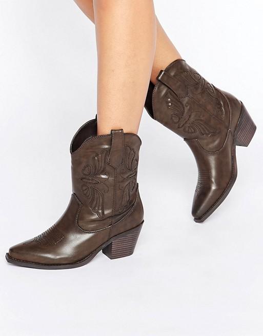 Stivali texani Glamorous
