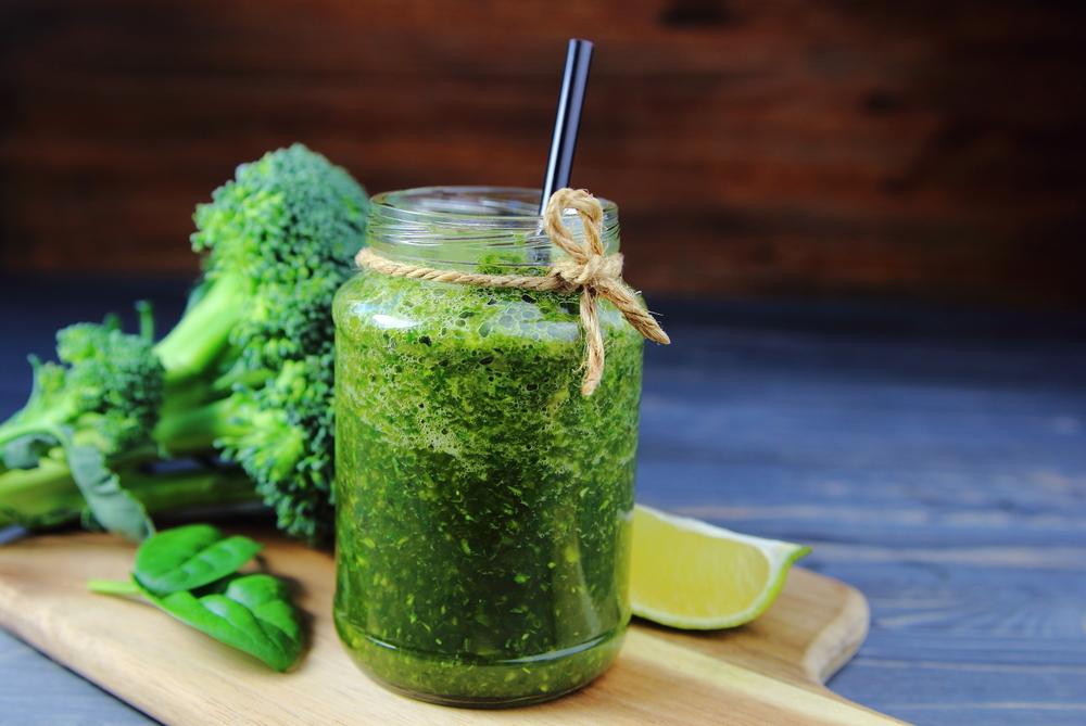 centrifugato broccoli finocchio lime