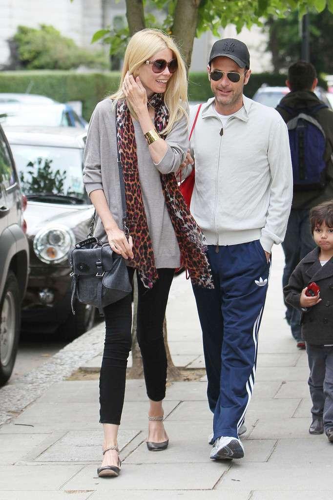 Claudia Schiffer e il marito Matthew Vaughn