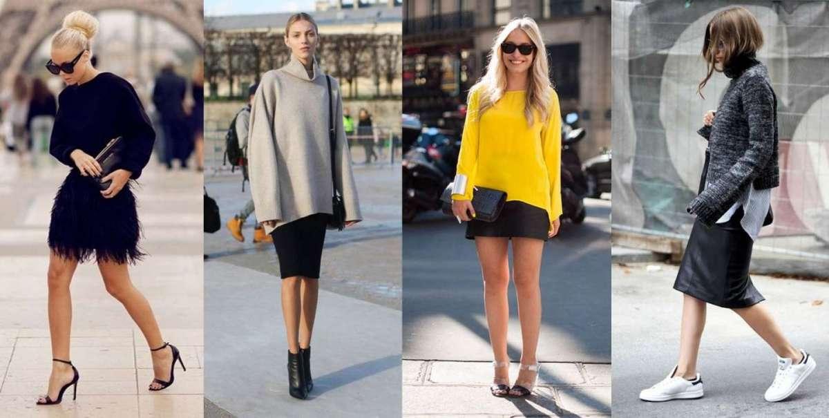 Come abbinare la gonna nera: consigli per look femminili e chic [FOTO]