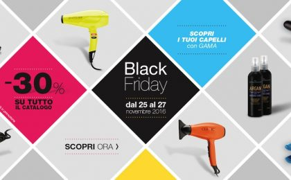 Black Friday, le imperdibili offerte di Gama