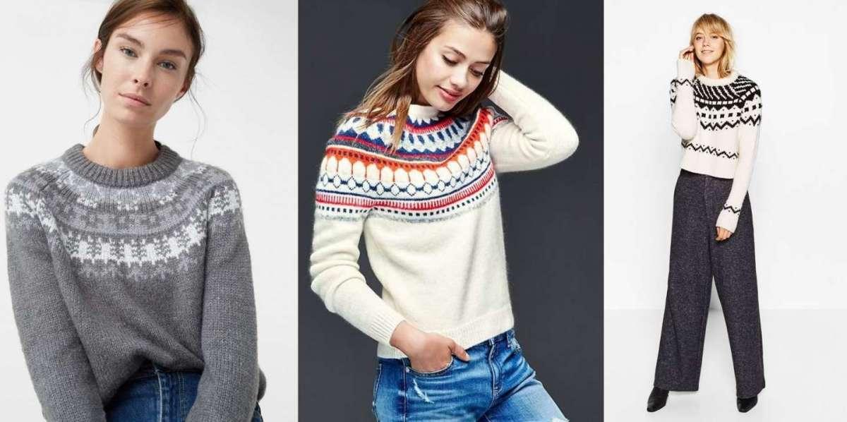 Maglioni norvegesi, le proposte più fashion per l'inverno [FOTO]
