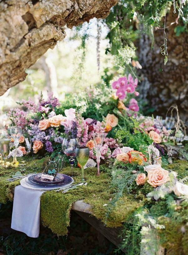 matrimonio a tema foresta incantata