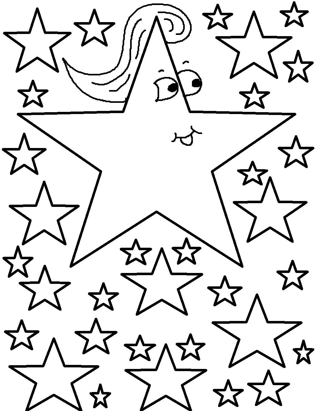 Disegno Stella Di Natale Da Colorare.Stelle Di Natale I Disegni Per Bambini Da Colorare Foto Pourfemme
