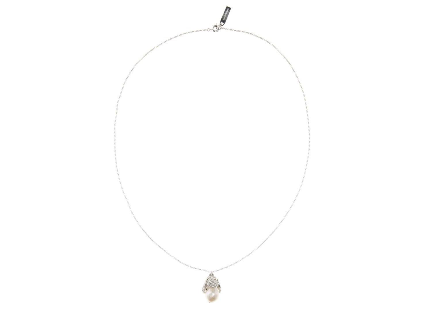 Collana con perla Balenciaga