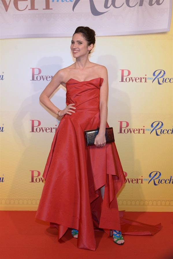 Ludovica Comello in Vivienne Westwood
