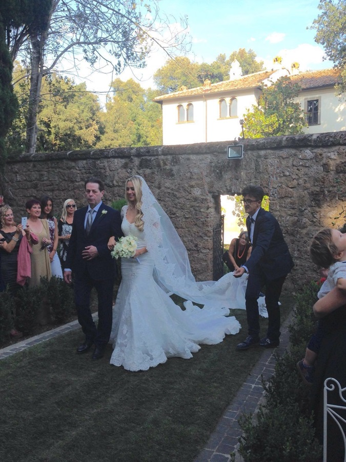 Martina Stella in Alessandr Angelozzi