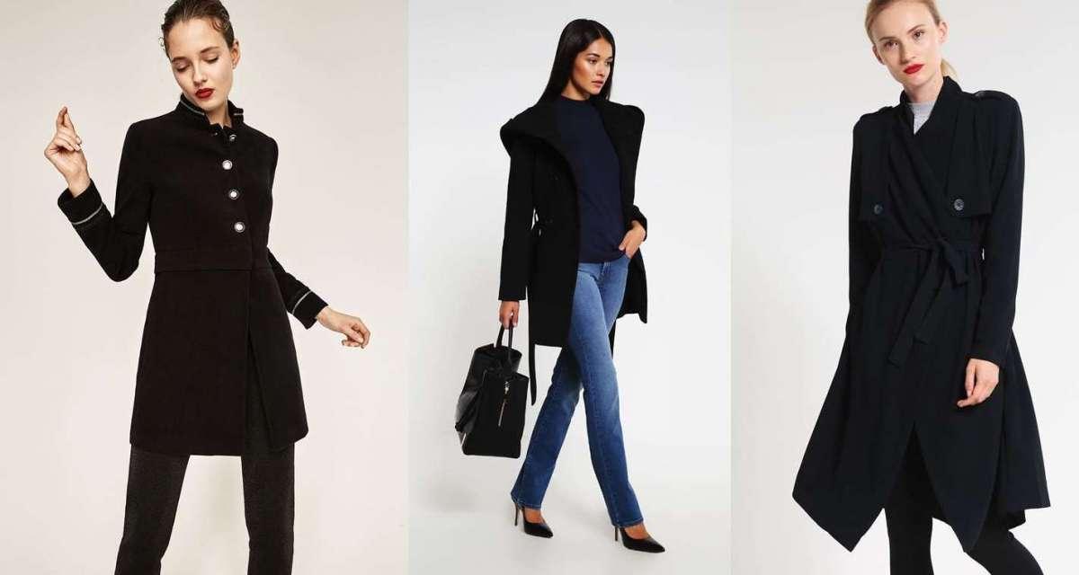 Cappotti neri, i modelli più fashion per l'Inverno 2017