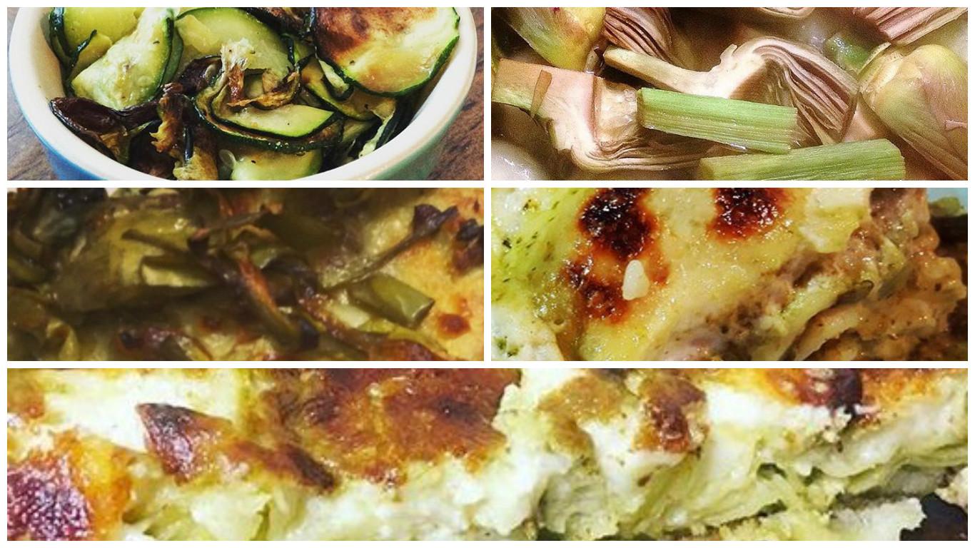 Lasagne al forno con verdure: la ricetta light ma gustosa