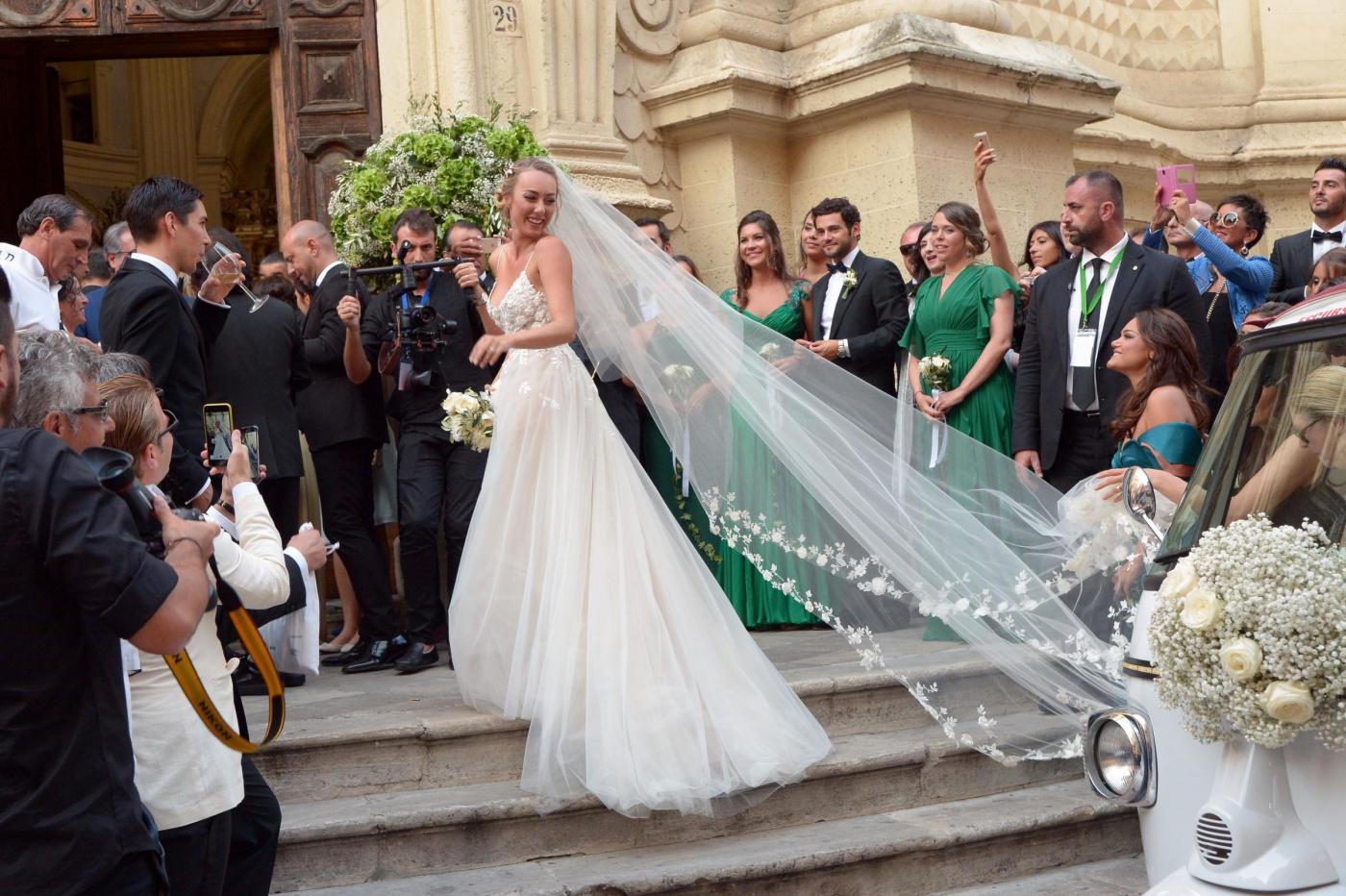 Matrimonio di Cristel Carrisi a Lecce