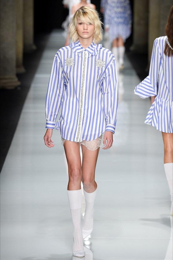 Camicia in stile mannish Francesco Scognamiglio