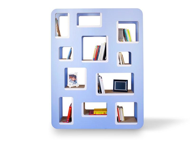 Libreria bifacciale divisoria in cartone DEDALO DUNAdesign