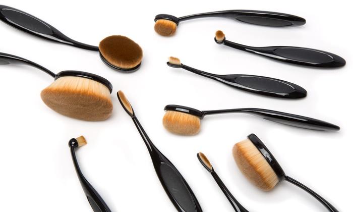 Pennelli ovali trucco come si usano e i migliori da provare