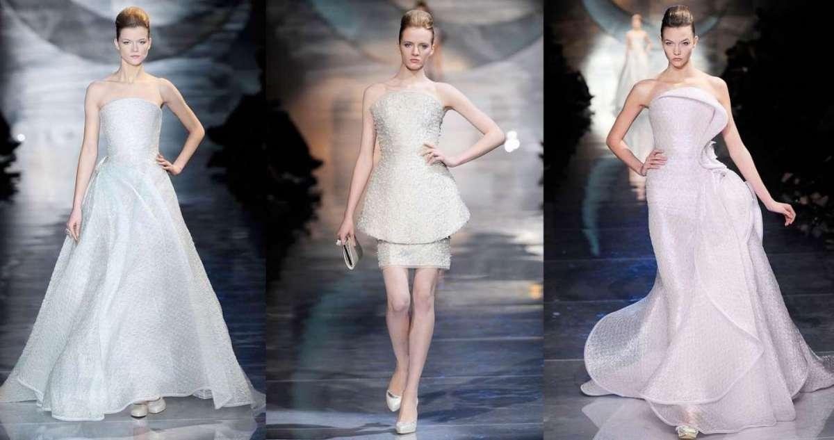 Abiti da sposa Armani  i modelli più fashion della maison  FOTO ... dbe1b5af802