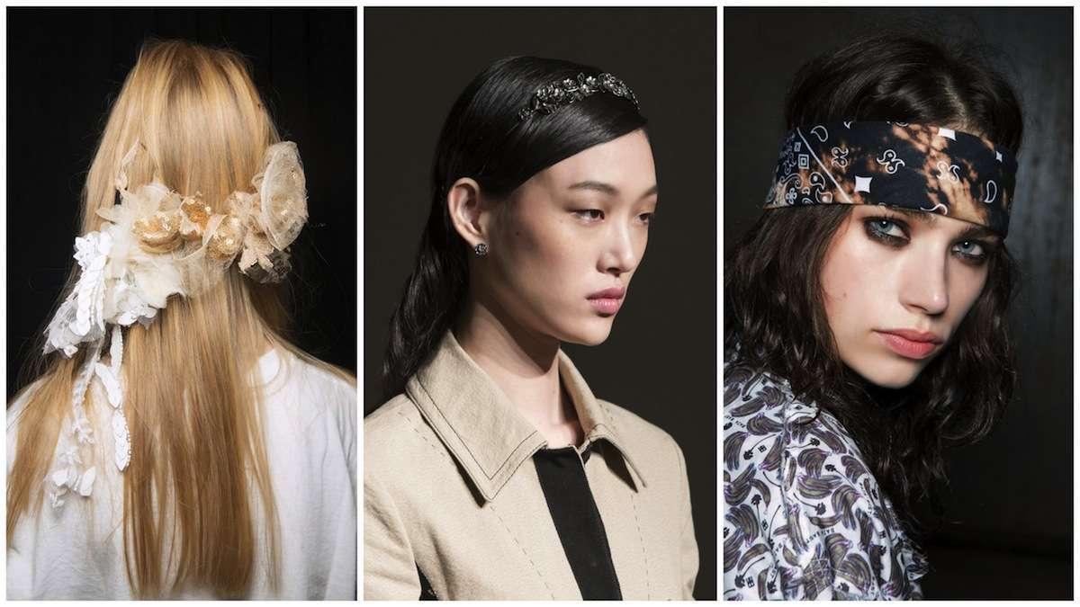 Accessori capelli Primavera/Estate 2017: tutte le idee più glamour dalle passerelle [FOTO]