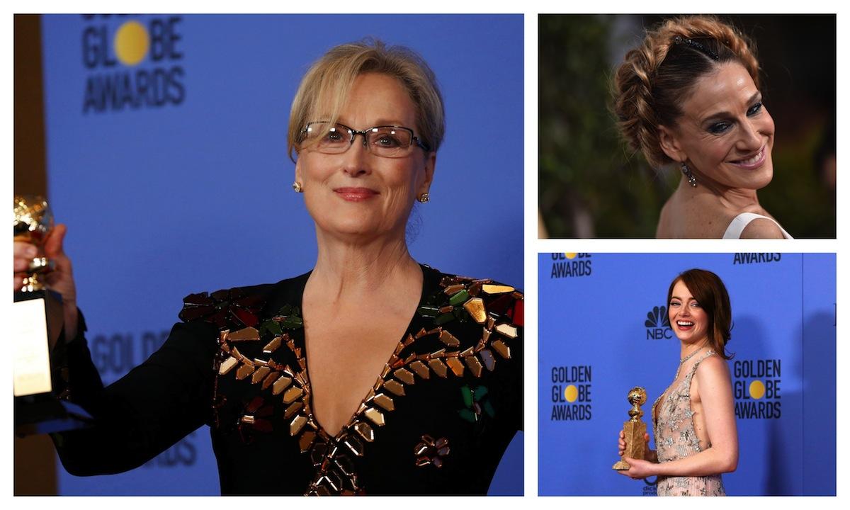 Quale beauty look delle star ai Golden Globes 2017 preferisci?