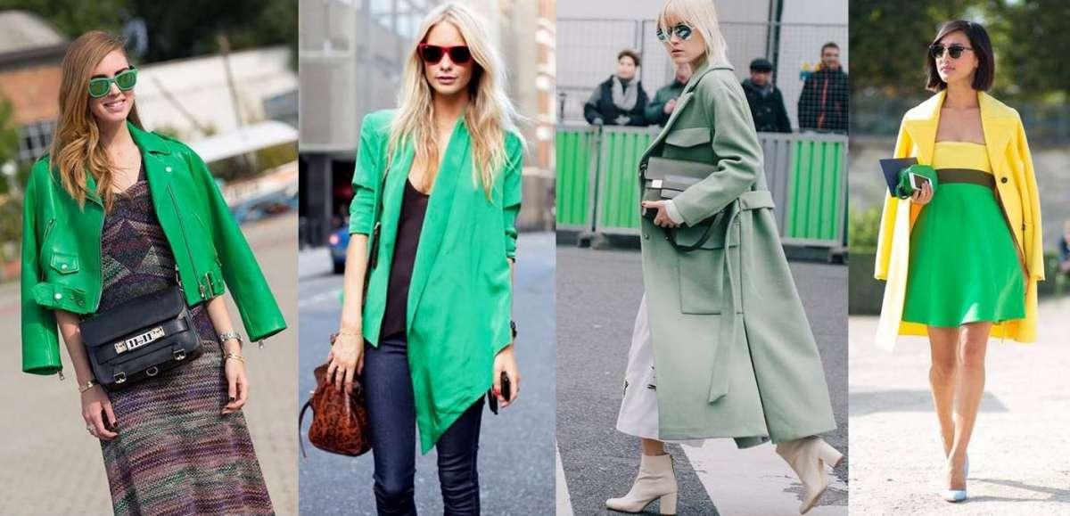 Come abbinare il verde  consigli di stile per look chic e femminili  FOTO  af6c6fb6c76