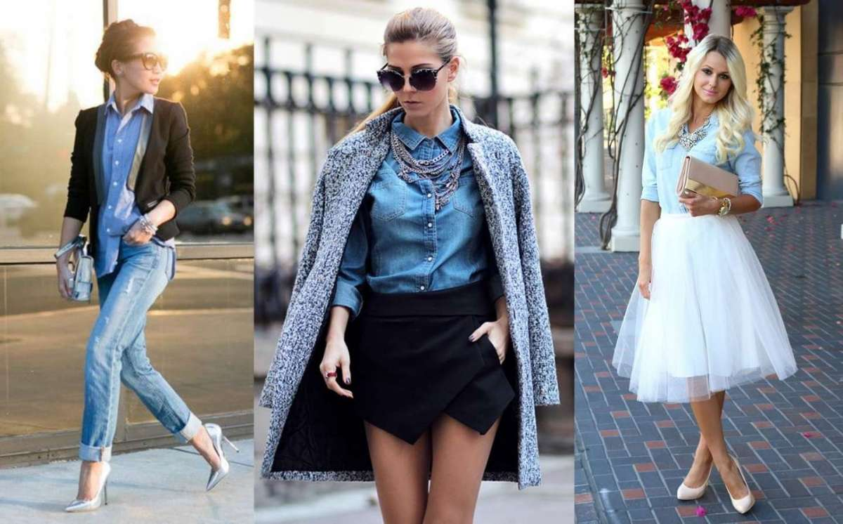 new products 00620 7c121 Come abbinare la camicia di jeans: consigli per look di ...