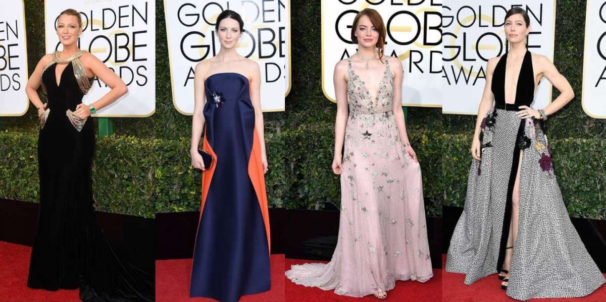 Golden Globes 2017: i look delle star [FOTO]