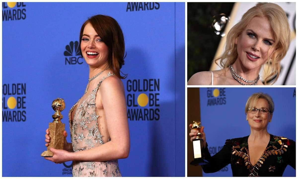 I beauty look delle star ai Golden Globes 2017