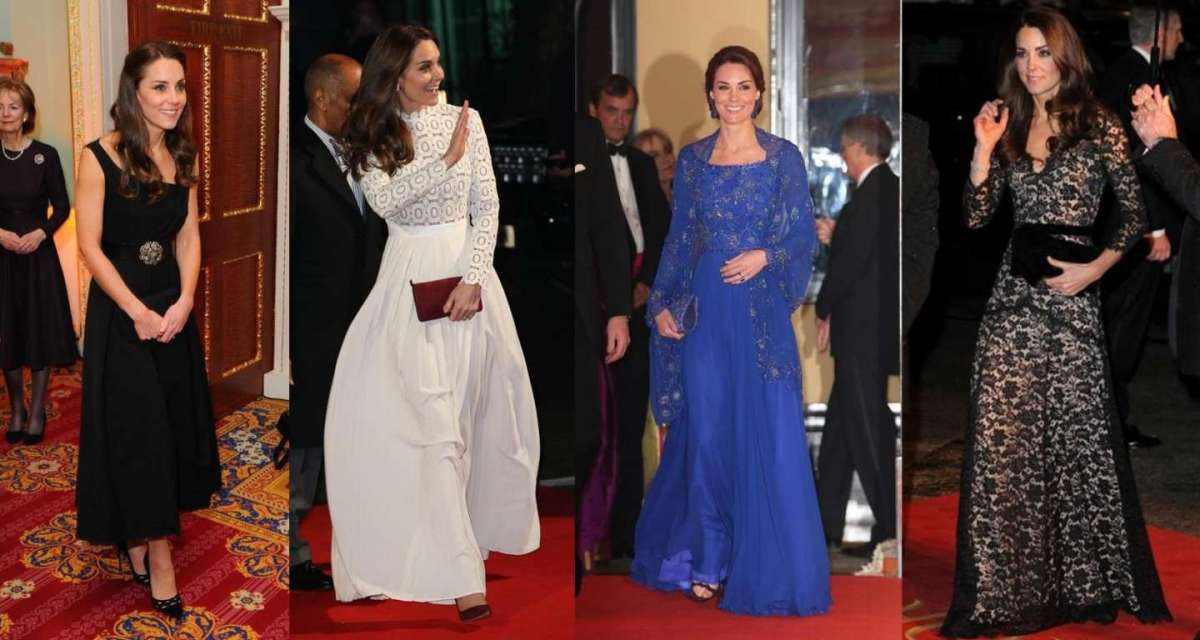 Tutti i look di Kate Middleton [FOTO]