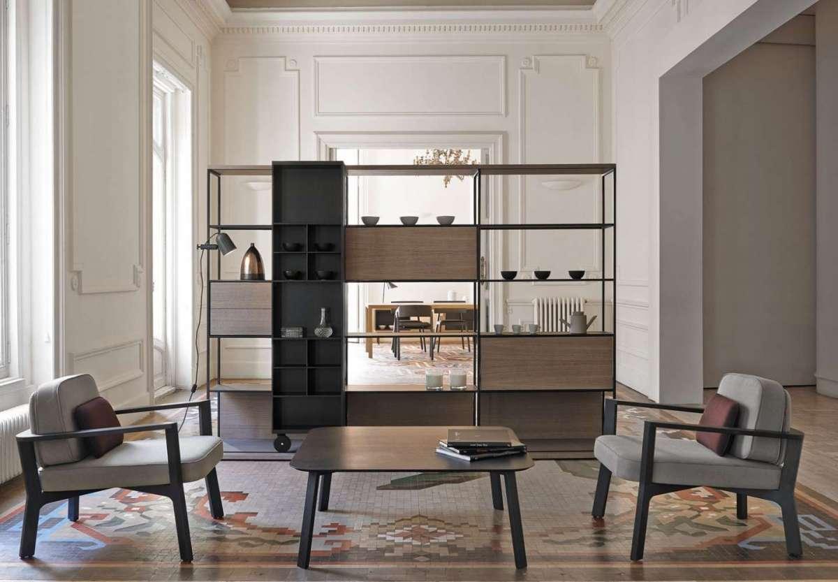 Librerie divisorie: come dividere gli spazi con il design ...