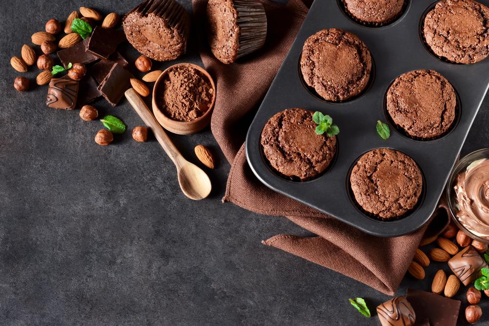 muffin vegani al cioccolato
