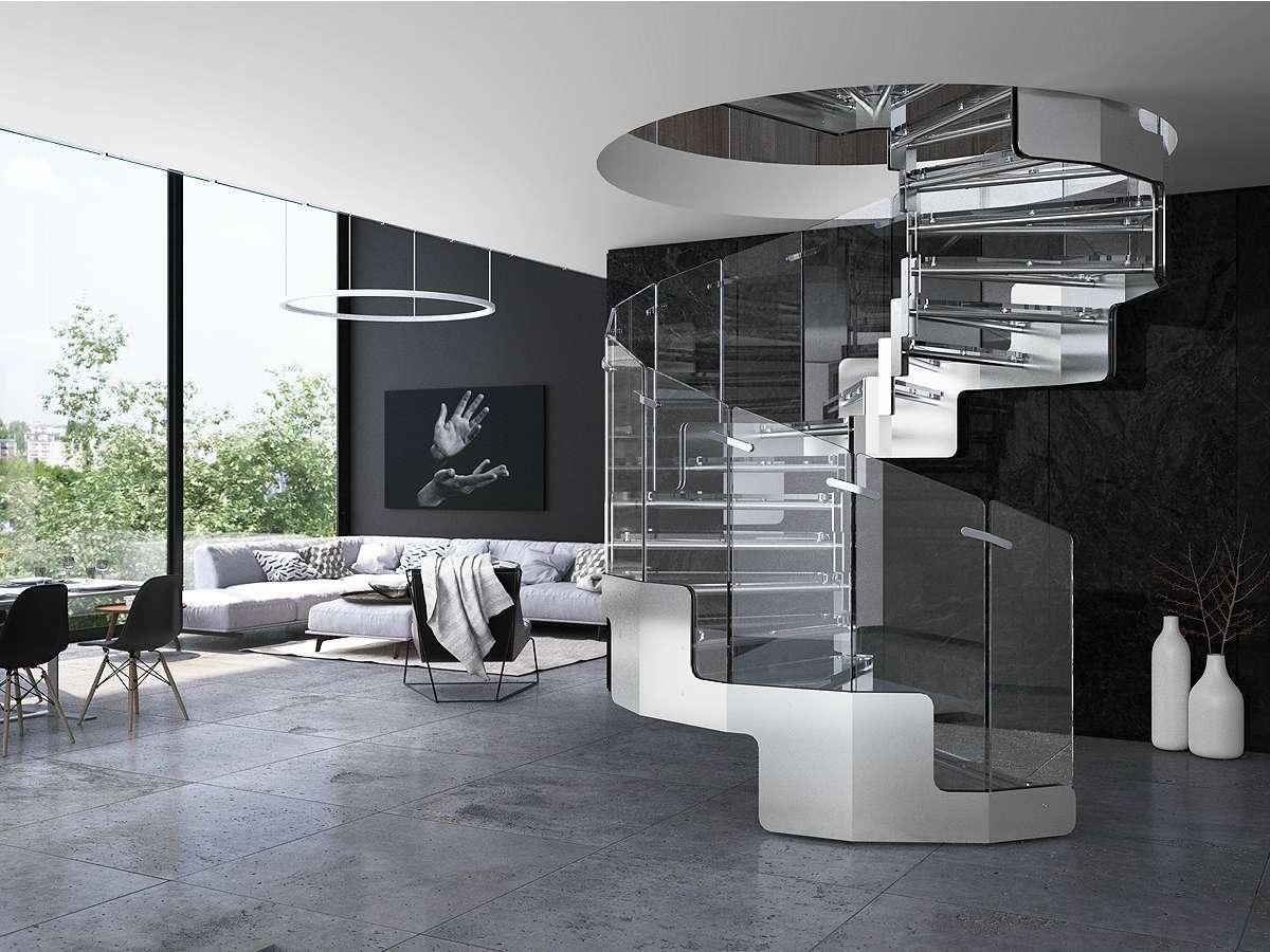 Scale per interni quali scegliere per una casa di design for Foto interni case design