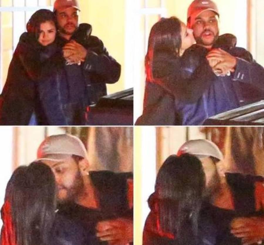 Selena Gomez flirta con The Weeknd [FOTO]