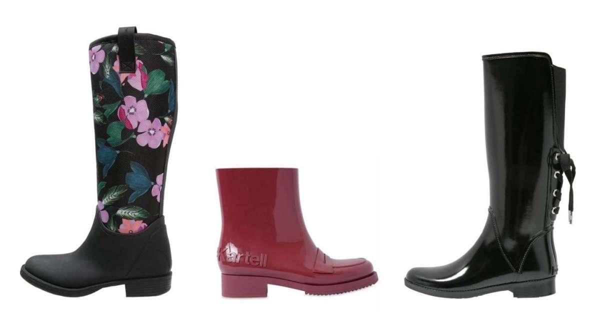Stivali per la pioggia, i modelli più fashion [FOTO]