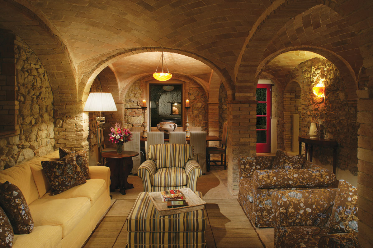 villa stile toscano