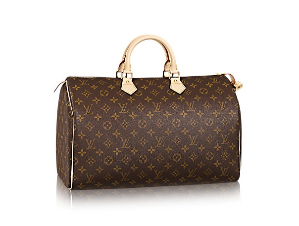 Bauletto Speedy 40 Louis Vuitton in tela Monogram