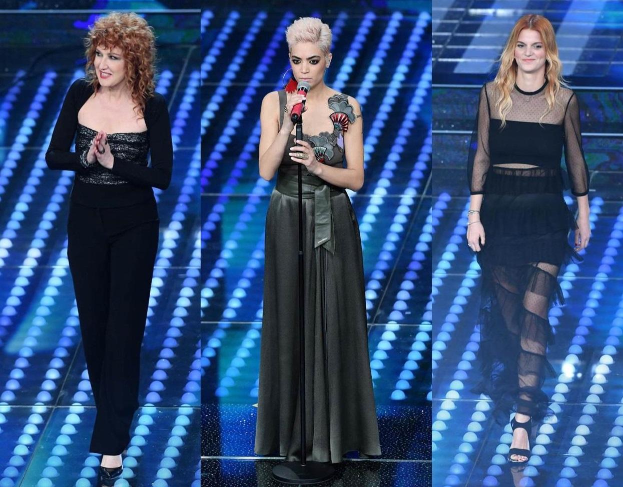 Cantanti a Sanremo 2017 terza serata look